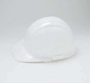 Jackson Safety Sentry III 6 Ratchet Hard Hat In White (One Size Fits All) J14409