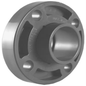 1-1/2 in. Socket Weld Schedule 80 Van Stone Style PVC Flange with Ring P80VSSF at Pollardwater