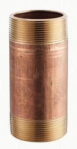 2-1/2 x 3 in. MNPT Global Brass Nipple GBRNL