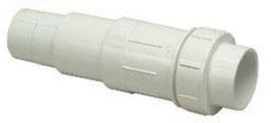PROFLO® 1-1/2 in. Slip Straight Schedule 40 PVC and EPDM Fix Coupling PF40SFCJ