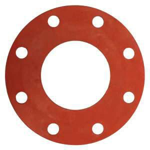 FNW® 14 x 1/16 in. 150# Rubber Full Face Gasket in Red FNWR1FFG11614 at Pollardwater