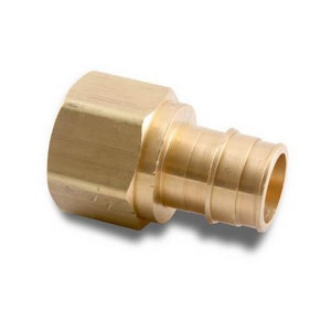 Uponor ProPEX® 3/4 in. PEX x NPT Brass Female Adapter ULF4577575