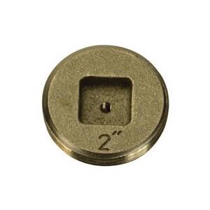 PROFLO® PFEP53 Series 1-1/2 in. Threaded Bronze/Brass Cleanout PFEP53