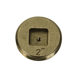 PROFLO® PFEP53 Series 5 in. Threaded Bronze/Brass Cleanout PFEP53S