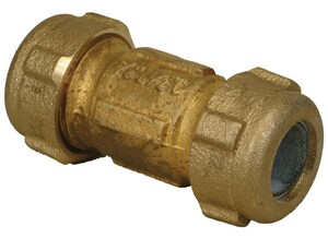 PROFLO® 3/8 in. IPS Compression Brass Coupling PFXBCCCM