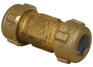 PROFLO® 1-1/4 in. IPS Compression Brass Coupling PFXBCCHM