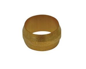 PROFLO® 1/2 in. OD Compression Brass Sleeve PFXCSD