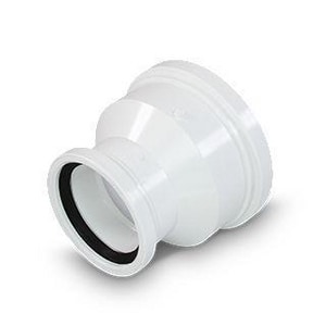 Multi-Fittings Corporation Trench Tough Plus™ 12 x 6 in. Gasket Reducing DR 35 PVC Molded Sewer Coupling MUL143530