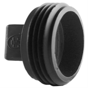 6 in. MPT Cleanout and DWV Schedule 40 ABS Raised Plug ADWVCOPU