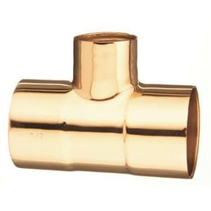 1-1/2 x 3/4 x 1-1/4 in. Copper Reducing Tee CTJFH
