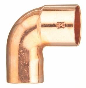 3/8 in. FTG x Copper 90 Degree Street Elbow CS9C