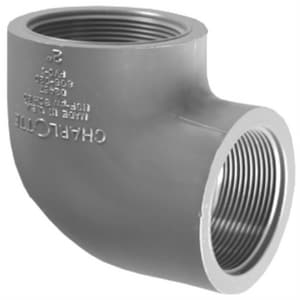 Xirtec® 2 in. FPT x Threaded Straight and Sanitary Schedule 80 PVC 90 Degree Elbow P80T9K at Pollardwater