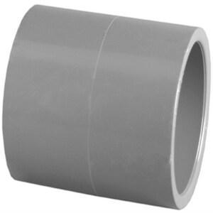 Xirtec® 1 in. Socket x Slip Straight Schedule 80 PVC Coupling P80SCG