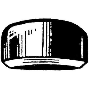 1-1/4 in. Weld Extra Heavy Carbon Steel Cap GWXCAPH
