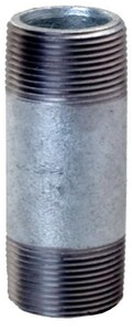2-1/2 x 4-1/2 in. Threaded Galvanized Carbon Steel Nipple IGNLR