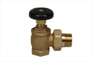 PROFLO® 1 in. Female Iron Pipe x Male Hot Water Angle Valve PF437G