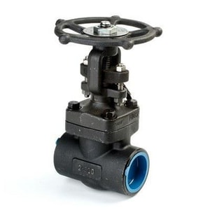 Neway Valve G8SNA8 1-1/2 in. Forged Steel Socket Weld x Threaded Gate Valve NG8SNA8J