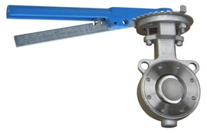 FNW HP Series 4 in. Carbon Steel RTFE Lever Handle Butterfly Valve FNWHP1WCTL