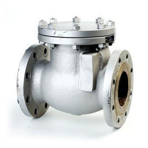 Neway Valve S Series 3 in. Carbon Steel Flanged Swing Check Valve NS1RA8M
