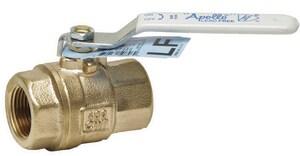 Apollo Conbraco 77CLF-A Series 1-1/2 in. Bronze Full Port FNPT 600# Ball Valve A77CLF10701