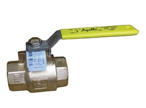 Apollo Conbraco 77CLF-A Series 1-1/2 in. Bronze Full Port NPT 600# Ball Valve A77CLF14701