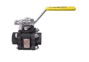 Apollo Conbraco 83A-200 Series 2 in. Carbon Steel Full Port Socket Weld 1500# Ball Valve A83A24801