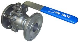 FNW 6 in. Stainless Steel Full Port Flanged 150# Ball Valve FNW660