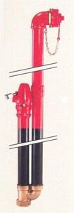 Kupferle, John C Foundry MainGuard #77 3 ft x 6 in. Bury Deep 90 Degree Horizontal Side Inlet Blow- Off Hydrant K77 at Pollardwater