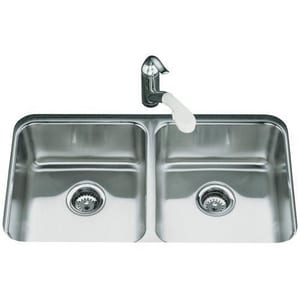 Kohler Undertone 29 X 16 7 5 8 In Double Bowl