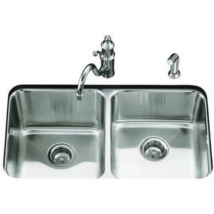 Kohler Undertone 29 X 16 9 5 8 In Double Bowl