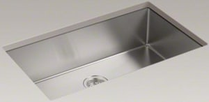 Kohler Strive 32 X 18 5 16 In Stainless Steel Single Bowl Undermount Kitchen Sink With Sound Dampening 5285 Na Ferguson
