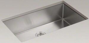 Kohler Strive 32 X 18 5 16 In No Hole Stainless Steel Single Bowl Undermount Kitchen Sink With Silentshield Sound Dampening 5285 Na Ferguson
