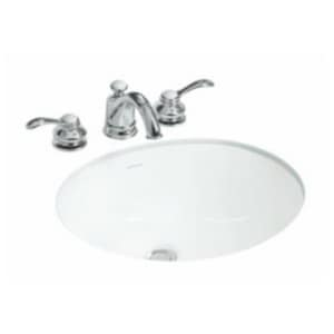 Sterling Wescott® Undermount Bathroom Sink in White S442040