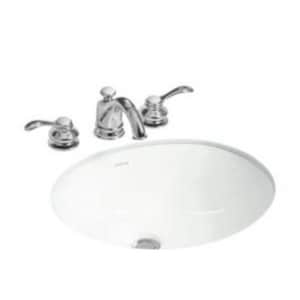 Sterling Wescott® Undermount Bathroom Sink in White S442050