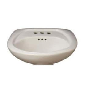 PROFLO® Lisbon Valley Pedestal Vessel in White PF4008WH