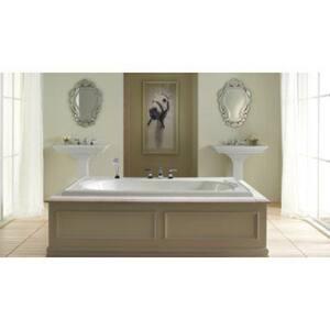 Kohler Memoirs® Stately Drop-in Bathroom Sink in White K2337-1