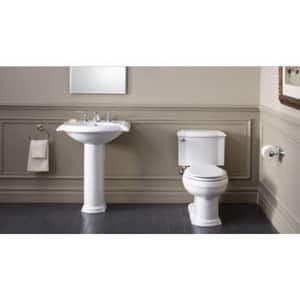 Kohler Devonshire® 3-Hole Oval Drop-In Bathroom Sink with 8 in. Widespread K2279-8