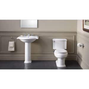 Kohler Devonshire® Drop-in Bathroom Sink in White K2279-4-0