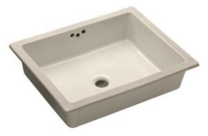 Kohler Kathryn® Undermount Bathroom Sink in Biscuit K2330-96