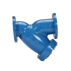 Zurn Wilkins Model FSC 6 x 2 x 2 in. 125# Cast Iron Flanged Epoxy Coating Wye Strainer WFSCU at Pollardwater