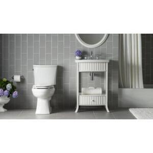 Kohler Kelston® Two Handle Widespread Bathroom Sink Faucet in Polished Chrome K13491-4
