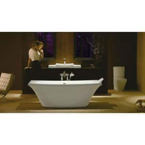 KOHLER Escale® 23-5/8 x 17-1/2 in. Drop-in Lavatory Sink with 8 in. Widespread Faucet Holes White K19029-8-0