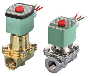 Asco Pneumatic Controls Red Hat® 8210 Series 115V Solenoid Valve 150 psi 5-5/8 in. Brass A8210G004 at Pollardwater