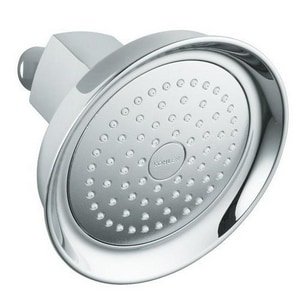 Kohler Margaux™ 2.5 gpm 1-Function Wall Mount Showerhead in Polished Chrome K16244-CP