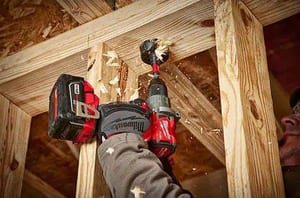 Milwaukee® M18 Fuel™ Cordless 18V 1/2 in Hammer Drill/Driver Kit M280422 at Pollardwater