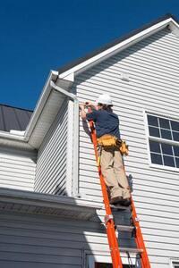 Louisville Ladder 16 ft. 300 lbs. Fiberglass Extension Ladder LFE3216 at Pollardwater
