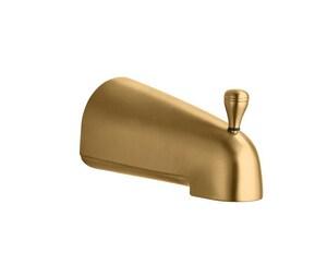 Kohler Devonshire® 4-7/16 in. Diverter Bath Spout Vibrant Brushed Bronze K389-BV