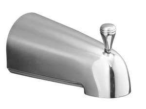 Kohler Devonshire® 4-7/16 in. Diverter Bath Spout with Slip-Fit Connection Polished Chrome K389-S-CP