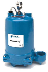 Goulds Water Technology 2 in. 1/2 hp Submersible Effluent Pump GWE0511HH at Pollardwater