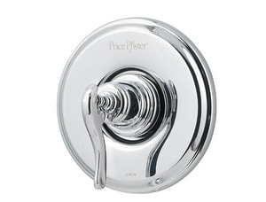 Pfister Ashfield™ Valve Trim Only with Single Metal Lever Handle in Polished Chrome PR891YPC